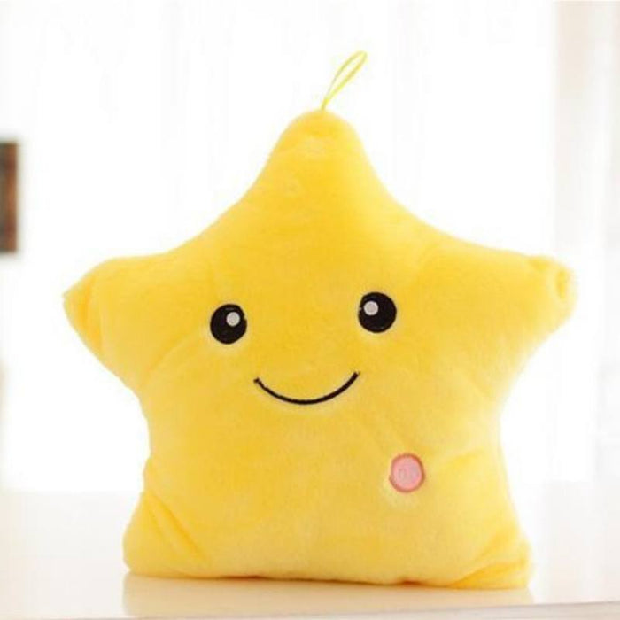 Luminous Star Plush Pillow-Boots N Bags Heaven