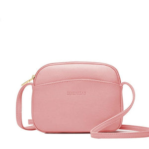 Mini Candy Colored Crossbody Bag Messenger Bag - Travel Light Messenger Bag