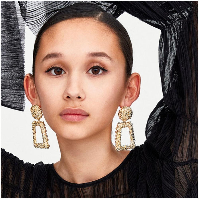 Modern Fashion Dangling Earrings-Boots N Bags Heaven