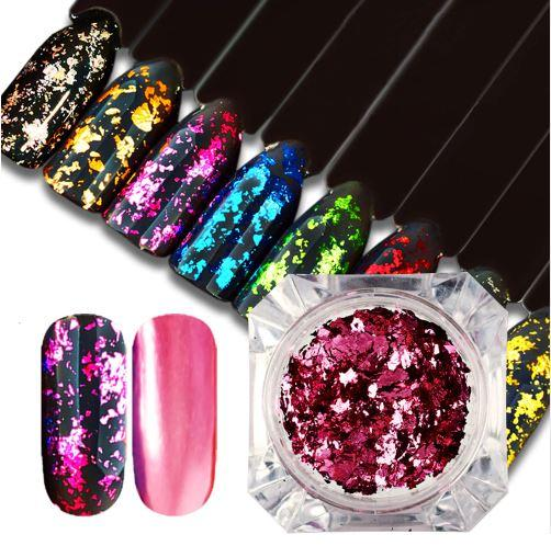 Magic Glitter Flakes Nail Decoration-Boots N Bags Heaven