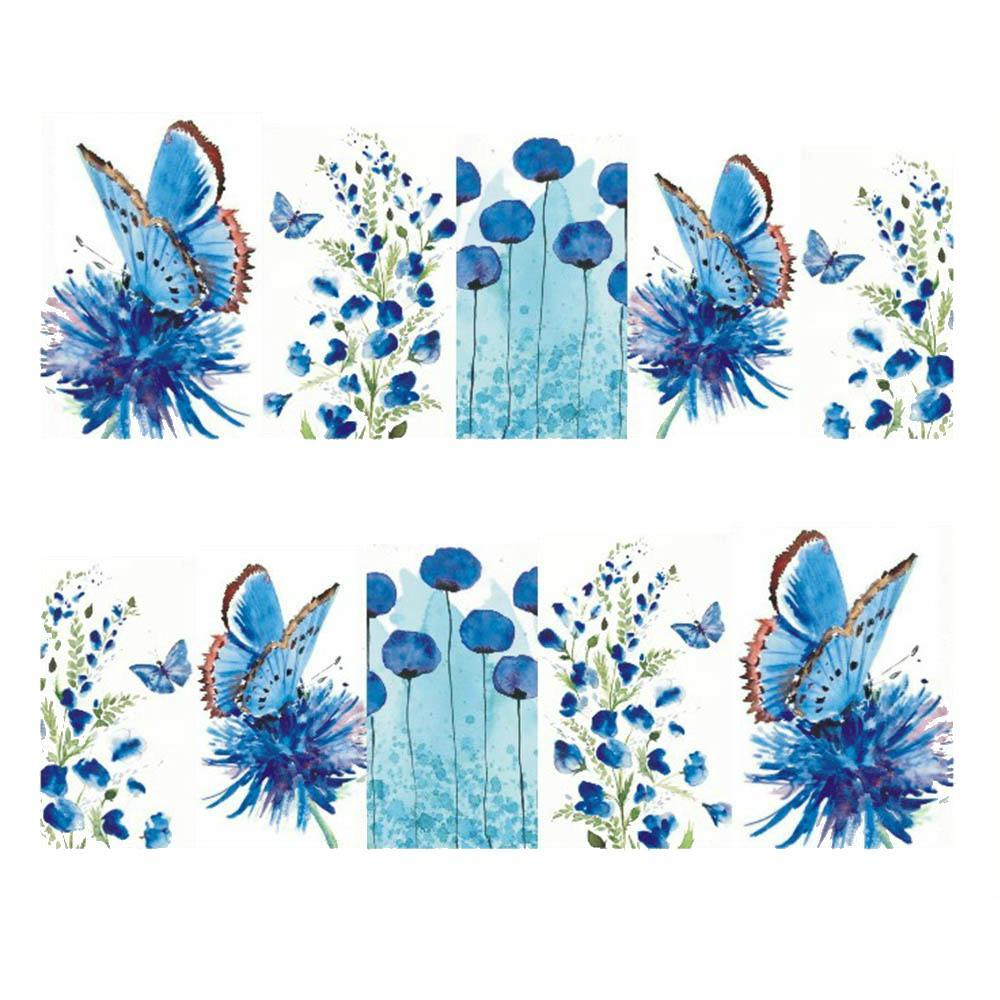 Butterfly Nail Art Stickers-Boots N Bags Heaven