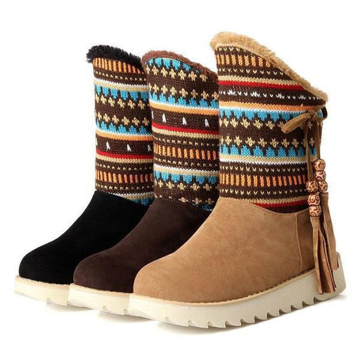 Native American Winter Boots-Boots N Bags Heaven