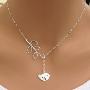 Necklace Jewelry Little Bird Lariat Necklace - Little Bird Lariat Necklace