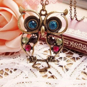 Necklace Jewelry Wisdom Vintage Hollow Owl Necklace - Wisdom Vintage Hollow Owl Necklace