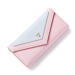 Pastel Geometric Envelope Wallet And Card Holder - Pastel Geometric Envelope Wallet And Card Holder