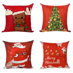 Pillow Case Christmas Holiday Festivity Pillowcase Collection - Holiday Festivity Pillowcase Collection