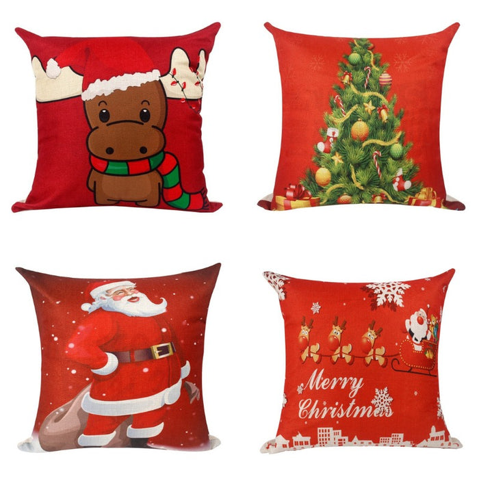 Holiday Festivity Pillowcase Collection-Boots N Bags Heaven