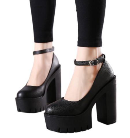 High Casual Platform Shoes-Boots N Bags Heaven