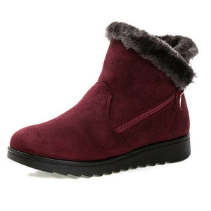 Platform Boots Winter Winter Queen Ankle Plush Boots - Winter Queen Ankle Plush Boots