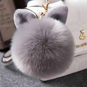 Pompoms - FREE! Fluffy Pompom Keychain For Bags