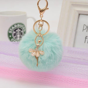 Pompoms - Golden Ballerina Handbag Pompom