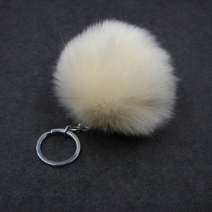 Pompoms - Perfect Pompom Keychain For Your Bag