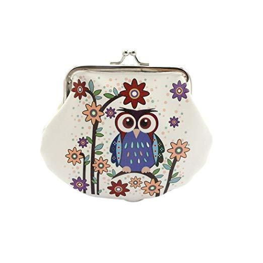 Retro Owl Pouch Bag-Boots N Bags Heaven