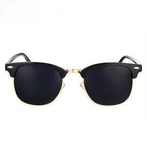 Retro Mirror Polarized Sunglasses - Retro Mirror Polarized Sunglasses