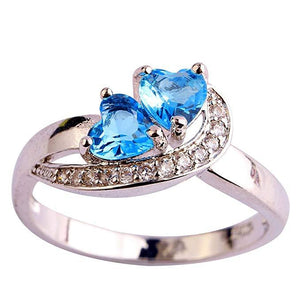 Rings Jewelry Elegant Topaz Cocktail Ring - Elegant Topaz Cocktail Ring