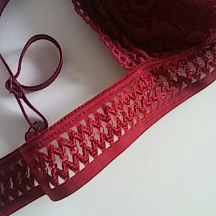 Seamless Comfy Lace Bralette-Boots N Bags Heaven