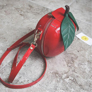 Shaped Bags - Apple Shaped HandBag