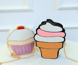 Shaped Bags - Ice Cream And Cupcake Mini Bags