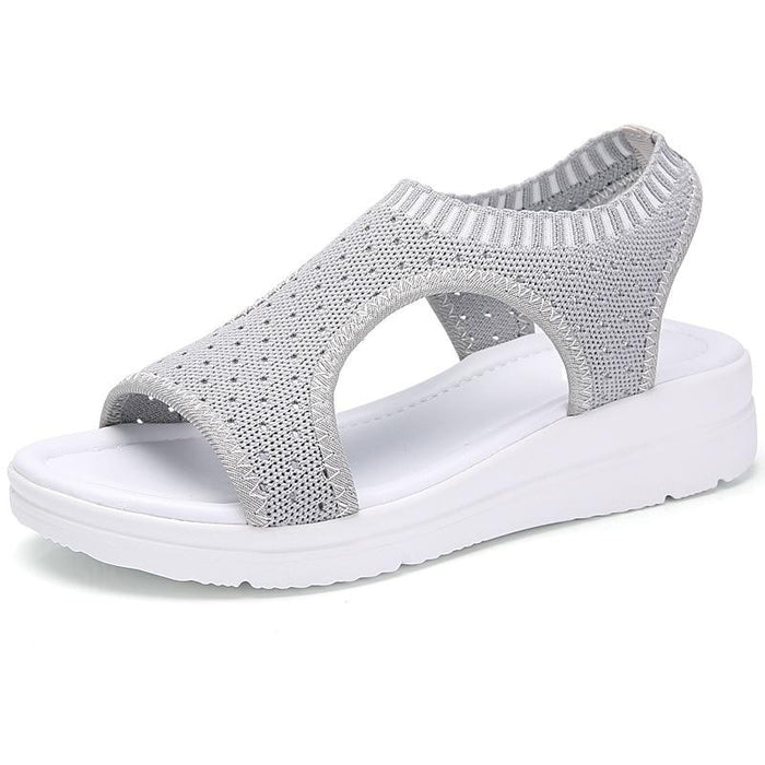Comfortable and Breathable Summer Platform Sandals-Boots N Bags Heaven
