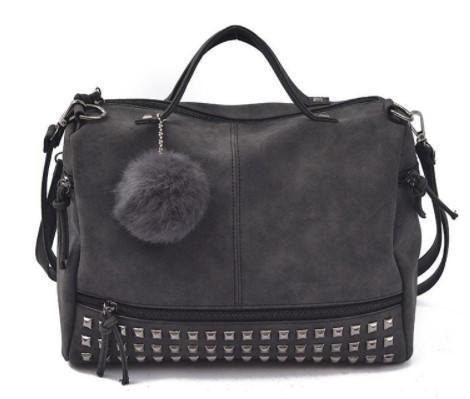 Nubuck Leather Messenger Bag-Boots N Bags Heaven