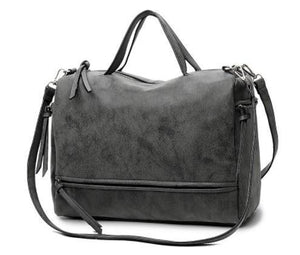 Shoulder Bags - Nubuck Leather Messenger Bag V2