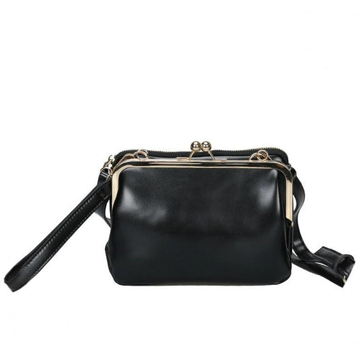 Simple And Chic Messenger Clasp Bag - Simple And Chic Messenger Clasp Bag