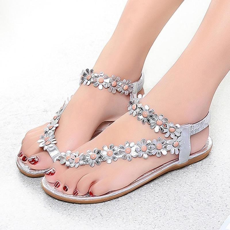 c51520ff4 Slip-on Sandals Sweet And Dainty Floral Sandals - Sweet And Dainty Floral  Sandals