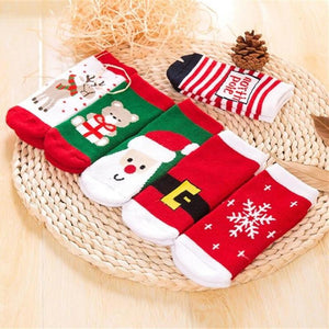 Socks Christmas Christmas Day Winter Socks For Toddlers - Christmas Day Winter Socks For Toddlers