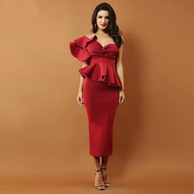 Lana - Sophisticated Cocktail Evening Dress-Boots N Bags Heaven
