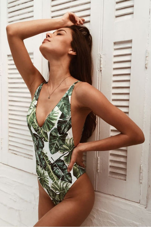 Chic and Sexy Monokini One-Piece Swimwear-Boots N Bags Heaven