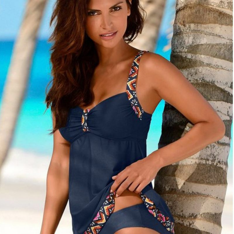 Plain and Printed Gorgeous Tankini Swimwear-Boots N Bags Heaven