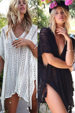 Summer Cover Up Sexy Bohemian Beach Swimwear Cover Up - Sexy Bohemian Beach Swimwear Cover Up