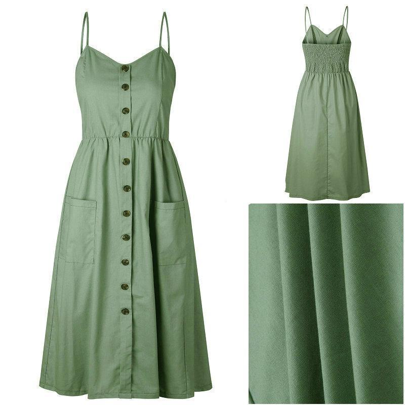 78bc8e748a06 Candace™ - Vintage Sexy Summer Dress - Boots N Bags Heaven