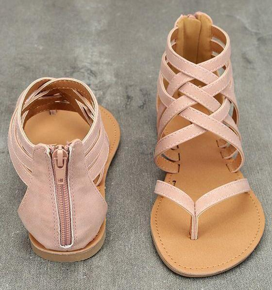 Summer Rome Style Sandals-Boots N Bags Heaven