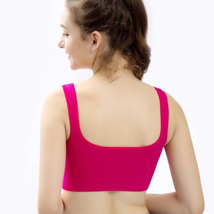 Pastel Colored Seamless Sports Bra-Boots N Bags Heaven