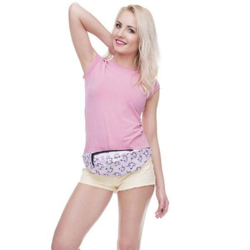 Full-Printed Design Fanny Waist Belt Bag-Boots N Bags Heaven