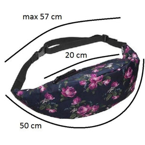 Waist Bags Full-Printed Design Fanny Waist Belt Bag - Full-Printed Design Fanny Waist Belt Bag