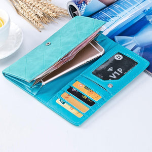 Wallet - Casual Long Leather Wallet