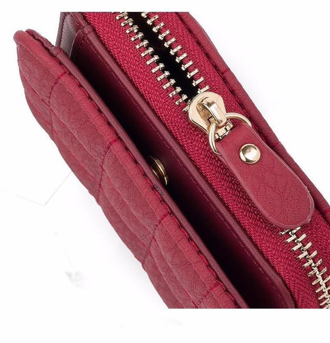 Casual Short Leather Wallet-Boots N Bags Heaven