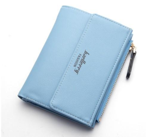 Casual Short Leather Wallet Zipper Pouch-Boots N Bags Heaven