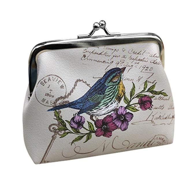 Vintage Sparrow Coin Purse-Boots N Bags Heaven