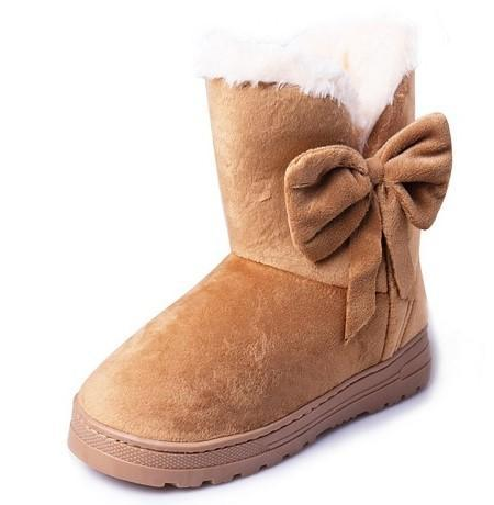 Comfortable Cotton Winter Boots-Boots N Bags Heaven