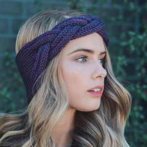 Winter Crochet Knotted Turban - Winter Crochet Knotted Turban