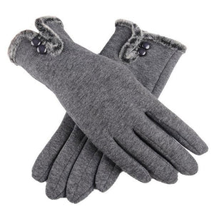 Winter Gloves Chic And Fashionable Cashmere Winter Gloves - Chic And Fashionable Cashmere Winter Gloves