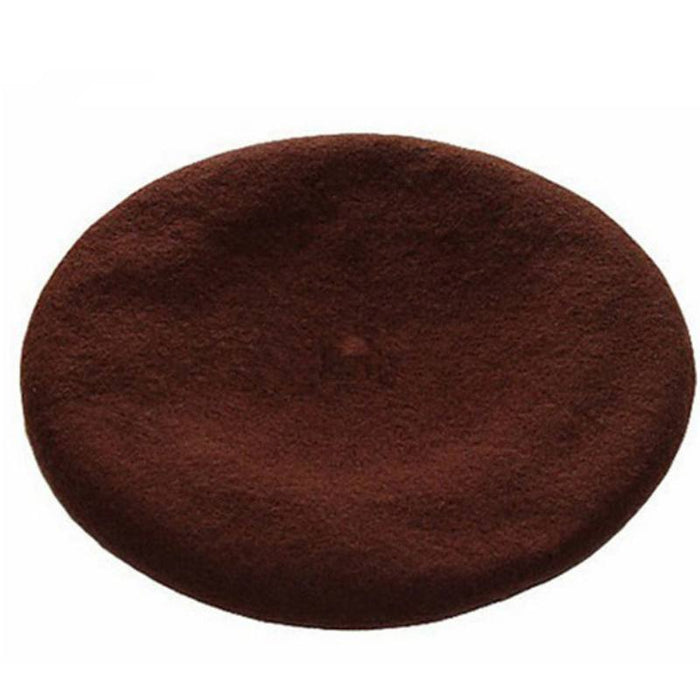 Winter Colorful Wool French Beret Hat-Boots N Bags Heaven