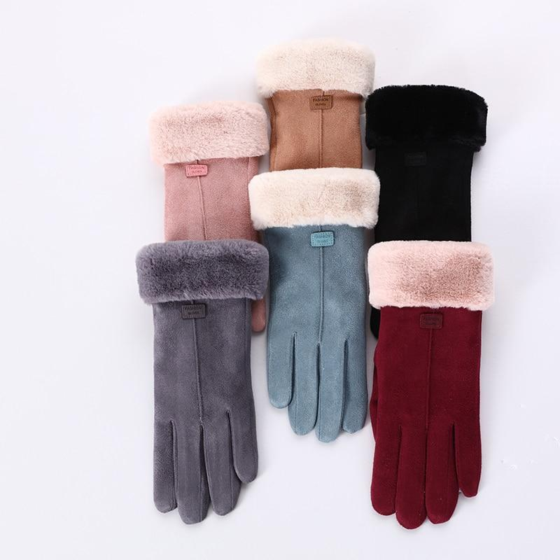Plush Winter Gloves-Boots N Bags Heaven