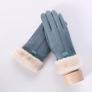 Winter Plush Gloves - Plush Winter Gloves