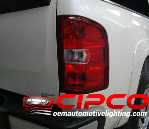 2007 2008 2009 2010 2011 2012 2013 Chevy Chevrolet Silverado Right Passenger Side New, Used OE, OEM Tail Light, Tail Lamp Assembly Replacement from OEM Automotive Lighting.com