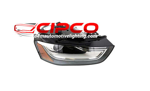 2013 2014 2015 2016 Audi A4, S4, Allroad Right Passenger Side new, used, refurbished Headlight, Headlamp Assembly Replacement from CIPCO  OEM Automotive Lighting.com