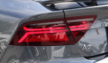 2016 2017 2018 Audi A7 S7 RS7 new used tail light, tail lamp assembly replacement for left driver side from OEM Automotive Lighting.com